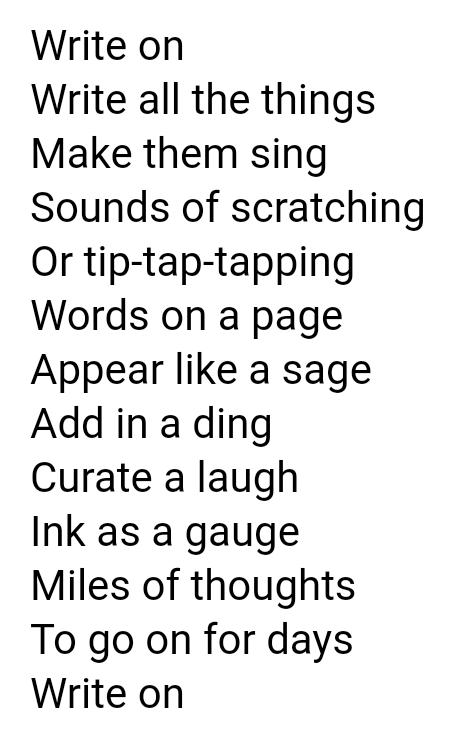 coffeewriter does poetry!
